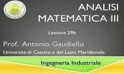 Analisi Matematica 3 - Uniclam