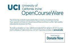 Organic Chemistry - UCI