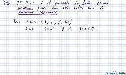 Corso di Matematica 1° Anno Scuole Superiori