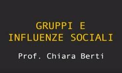 Gruppi e Influenze Sociali - UniNettuno