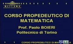 Corso propedeutico di Matematica - UniNettuno