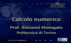 Calcolo Numerico - UniNettuno