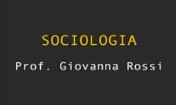 Sociologia Generale - UniNettuno