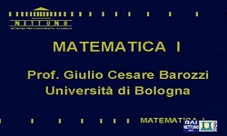 Matematica I - UniNettuno
