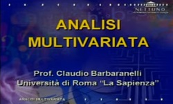 Analisi Multivariata - UniNettuno