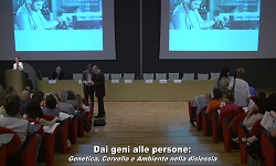 Seminario Dai geni alle persone: Genetica, Cervello e Ambiente nella dislessia