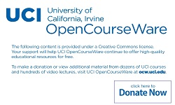 Inorganic Chemistry: UCI