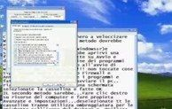 Come velocizzare Windows XP